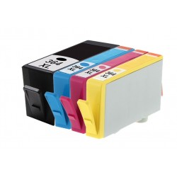 Pack 4 Tinteiros Compativel HP  364