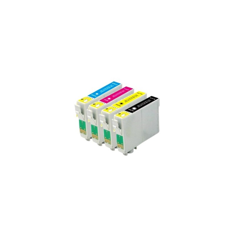 Pack Tinteiro Compativel EPSON T1631, 1632, 1633, 1634
