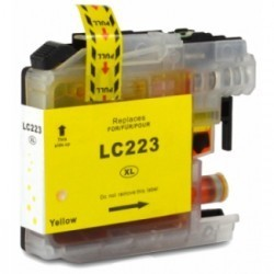 Tinteiro Compativel Brother LC-223XL Y
