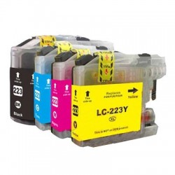 Pack Tinteiros Compativeis BROTHER LC 223
