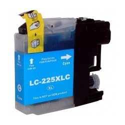 Tinteiro Compativel Brother LC-225XL C