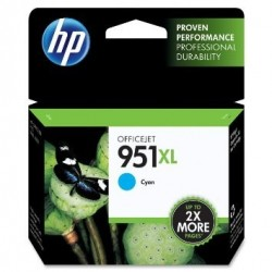 Tinteiro Original HP 951XL Cyan