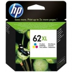 Tinteiro Original HP 62XL Color