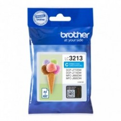 Tinteiro Brother LC3213 Azul