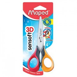 Tesoura 13cm Maped Pontas...